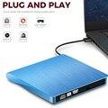YiYaYo USB 3.0 External Drive DVD-ROM CD-RW DVD-RW Burner Player Portable Reader Slim for Windows7/8/10 Laptop