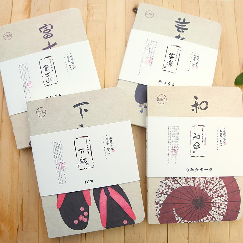 Japanese art-themed notebooks