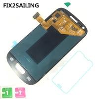 Super LCD Hiển Thị 100% Thử Nghiệm Làm Việc Touch Screen Lắp Ráp Đối Samsung Galaxy S3 Mini I8190 I8190N I8195 i8 Với Tempered Glass