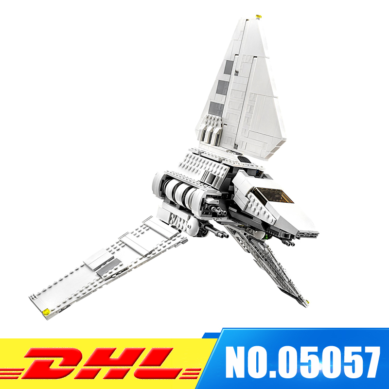 LEPIN 05057  937Pc UCS Series Imperial Shuttle Tydirium Building Blocks Bricks Mini Assembled Toys Compatible 75094 Gift new lepin 22001 pirate ship imperial warships model building kits block briks toys gift 1717pcs