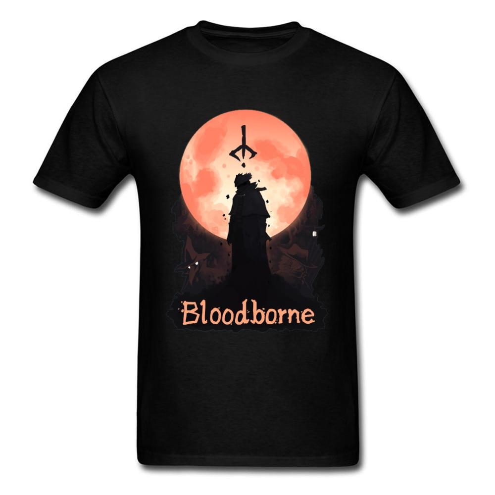 T-shirt Men Game Tshirt Bloodborne Nightmare Tops & Tees Lordran Praise The Sun T Shirts 2019 New Dark Souls Tshirts Sun Warrior