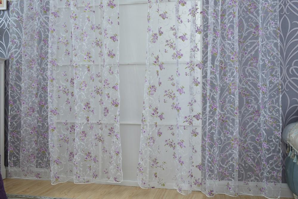 purple tulle curtain (2)