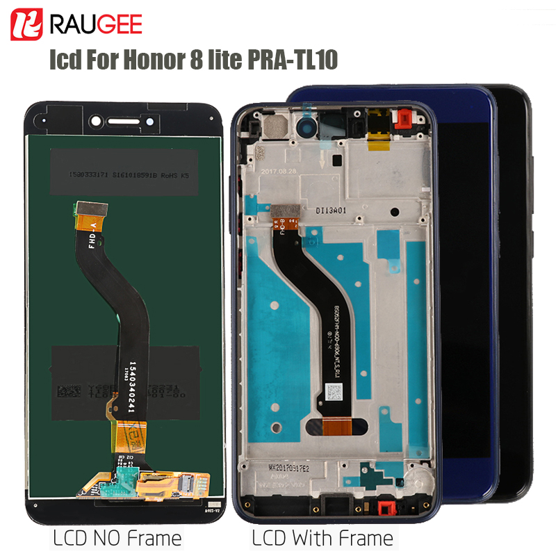 <font><b>Display</b></font> For <font><b>Honor</b></font> <font><b>8</b></font> <font><b>Lite</b></font> LCD Touch Screen Digitizer replacement for <font><b>Huawei</b></font> <font><b>Honor</b></font> <font><b>8</b></font> <font><b>Lite</b></font> <font><b>PRA</b></font>-<font><b>TL10</b></font> AL00 <font><b>Display</b></font> Tested LCD Sensor image