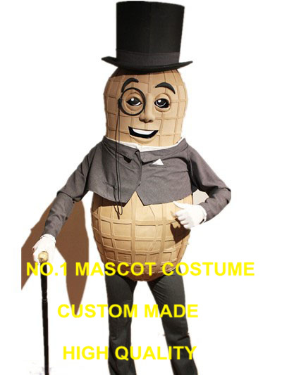 mr peanut mascot costume for adult high quality realistic peanut theme anime cosplay costumes carnival fancy dress kits 2940-in Mascot from Novelty ...  sc 1 st  AliExpress.com & mr peanut mascot costume for adult high quality realistic peanut ...
