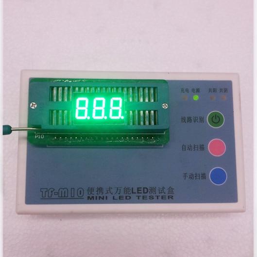 100pc Common Anode/Common Cathode 0.36 Inch Digital Tube 3 Bit Digital Tube 0.36inches Best  Emerald Digital Tube Green