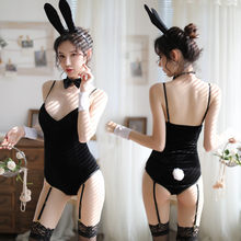 cfd01307c Women Sexy Catsuit Lingerie Hot Erotic Rabbit Girl Cosplay Costume Porno  Sexy Bodysuit Lingerie Babydoll Erotic Bodysuit Teddy