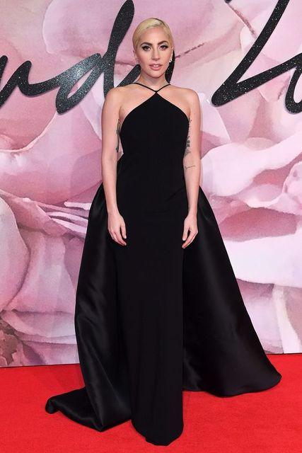 2017 Sexy inspiriert von Lady Gaga Roter Teppich kleid Abendkleid ...