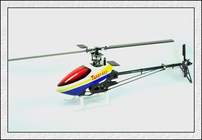 Rc carbone tout métal hélicoptère Tarot couple 450 Pro Kit/TL20003