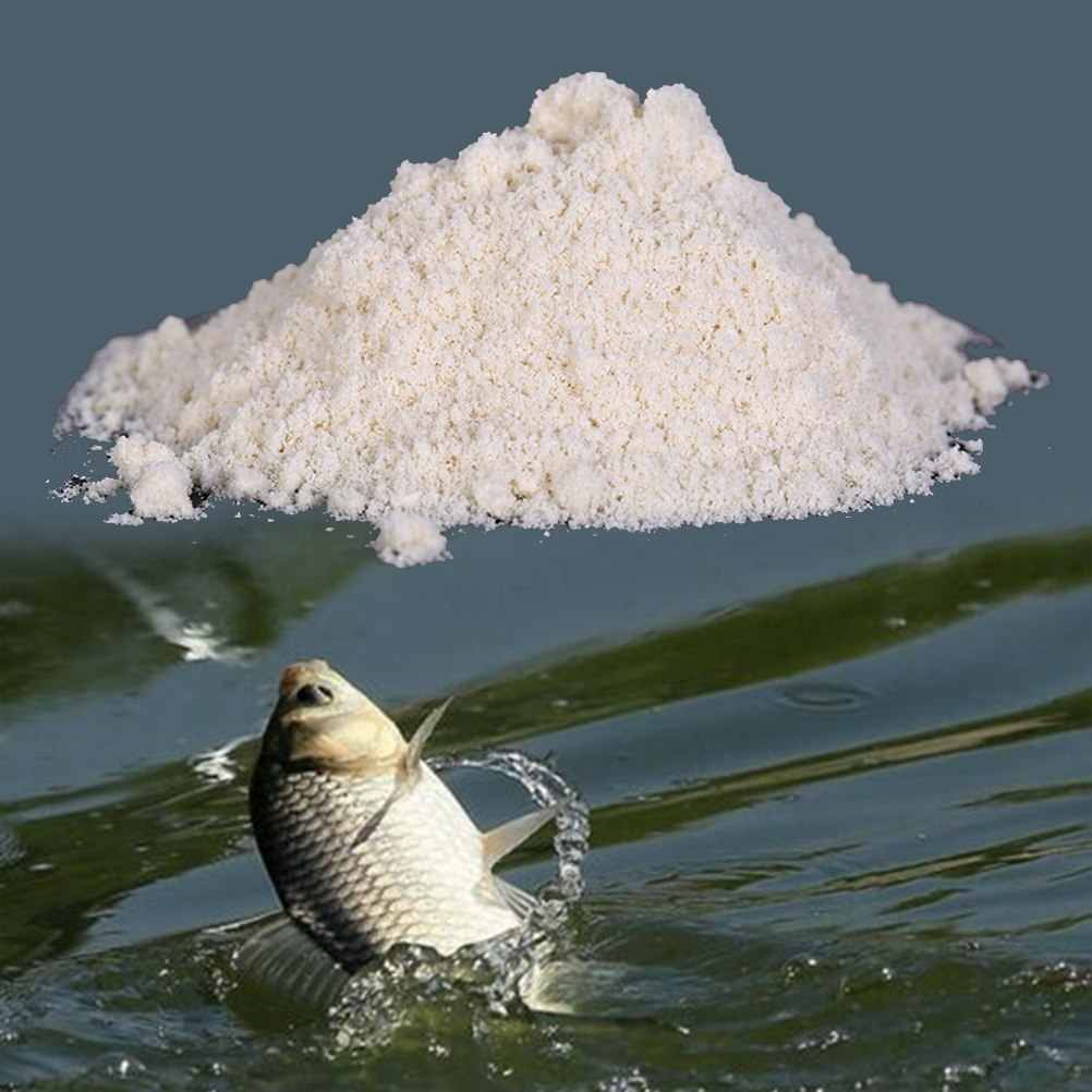 40 G 1 Zak Knoflook Poeder Aas Additief Voor Herabuna Grootkopkarper Vissen Groundbait Feeder Grond Aas Additieven