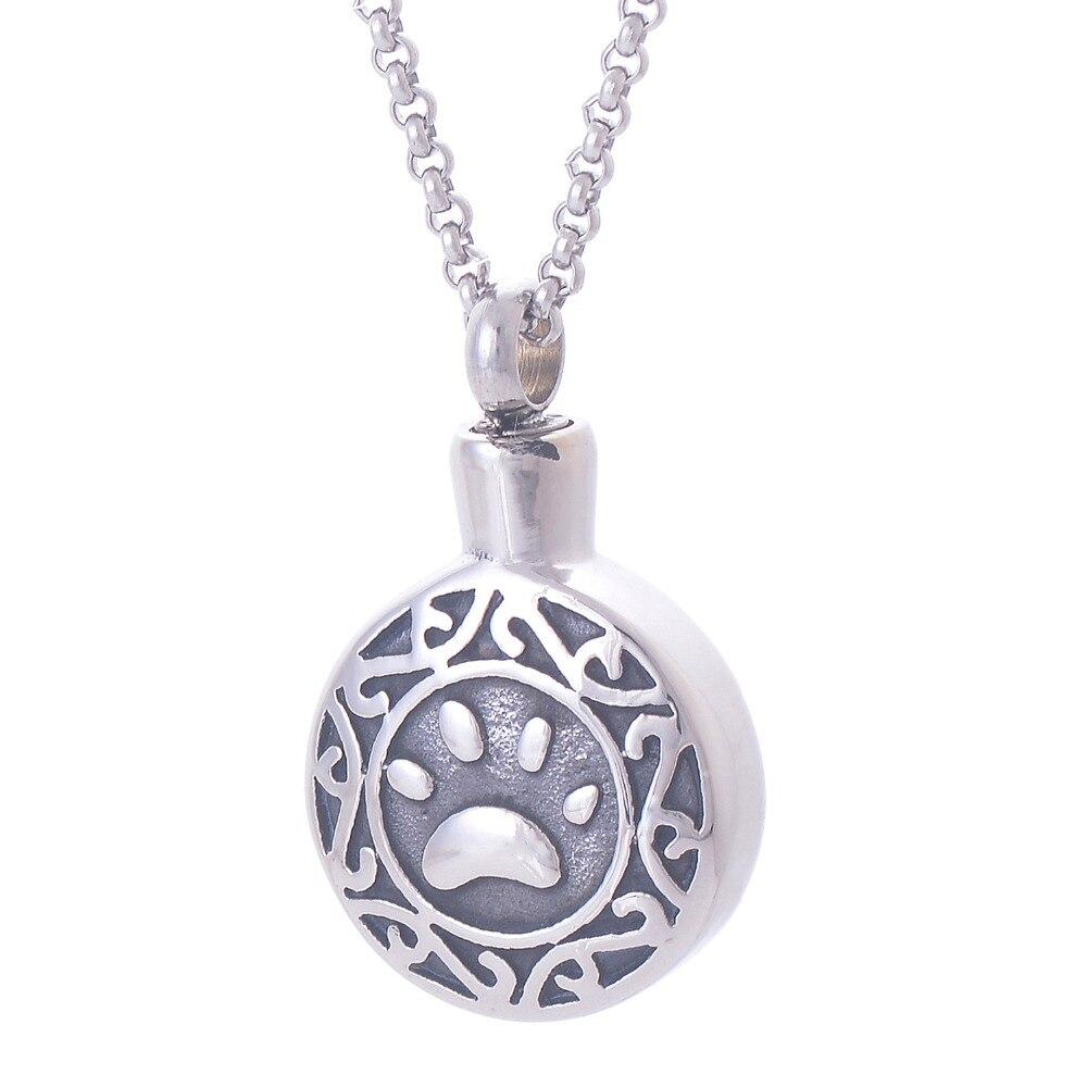fashion 316l stainless steel pendants necklaces memorials