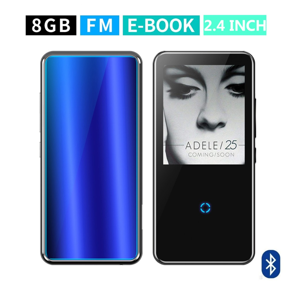 M600 Bluetooth MP3 music player HD touch screen Video player Portable Slim HiFi Bluetooth player 16GB Bluetoot 4.1 MP3 Speaker portable bluetooth 5 0 player