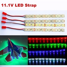 20Cm RC LED Light Strip With JST Connector Lighting Flashing For RC Quadcopter Multirotor Helicopter QAV250