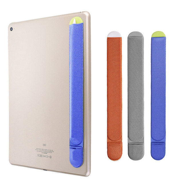 buy online df08b dd76b US $2.46 45% OFF|Soft Non Slip Self Adhesive Tablet Stylus Pen Protective  Case Cover Holder Sleeve Pouch for Apple iPad Pro Pencil iPencil Gadget-in  ...