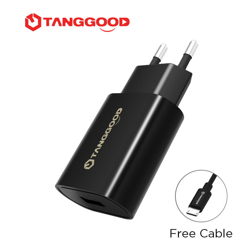 TANGGOOD Subito S1 Quick Charge QC3.0 Travel Charging Adapter Charger Qualcomm QC2.0 3.0 18W 2.1A for Samsung Xiaomi Huawei Зарядное устройство