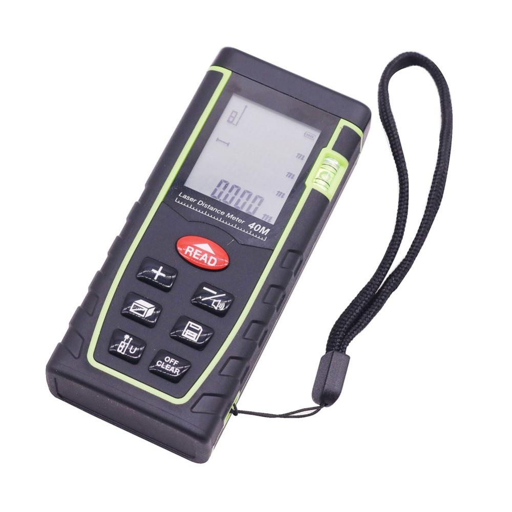 1pc 40m Laser Rangefinders Tools Measurement Analysis Instruments Optical Instruments Distance Area Volume Pythagorean Measuring