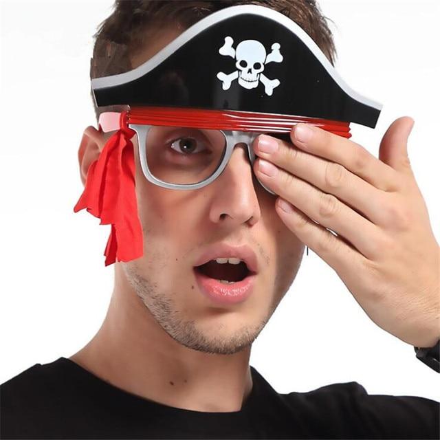 Пиратские очки для карнавала в ассортименте 3