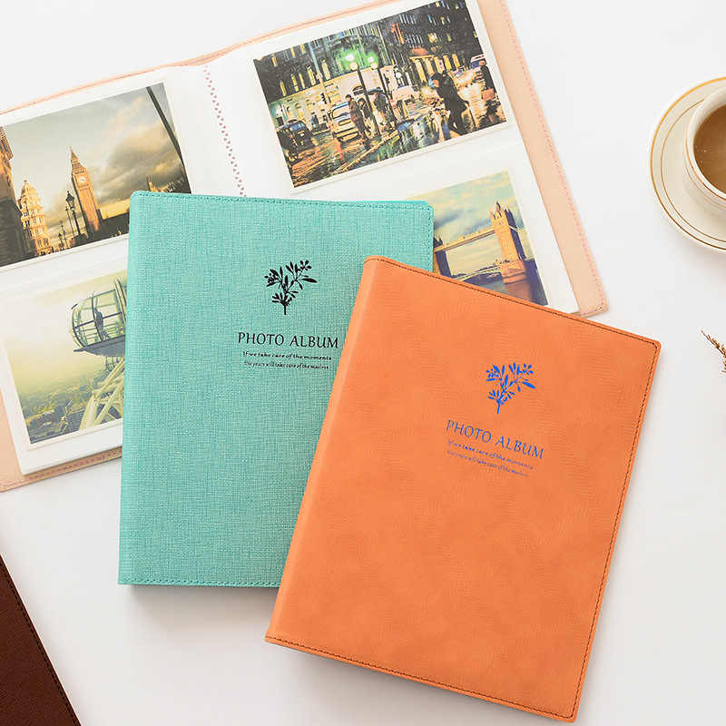 80 Pockets Polaroid Photo Album 6 inch Instant Picture Family Memory Baby DIY Scrapbook Album Korea wedding Inset Album