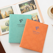 80 Pockets Polaroid Photo Album 6 inch Instant Picture Family Memory Baby DIY Scrapbook Album Korea wedding Inset Album photo album 100 200 sheets insert page 5 6 inch instant picture storage frame children lovers wedding memory diy book gifts new