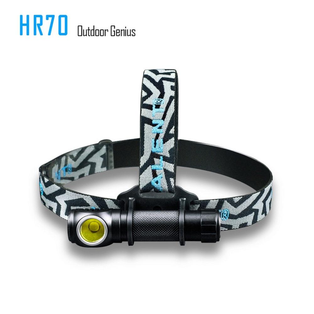 IMALENT HR70 phare avec CREE XHP70 LED 3000 lumens lampe de poche aimant USB charge avec 18650 li batterie phare
