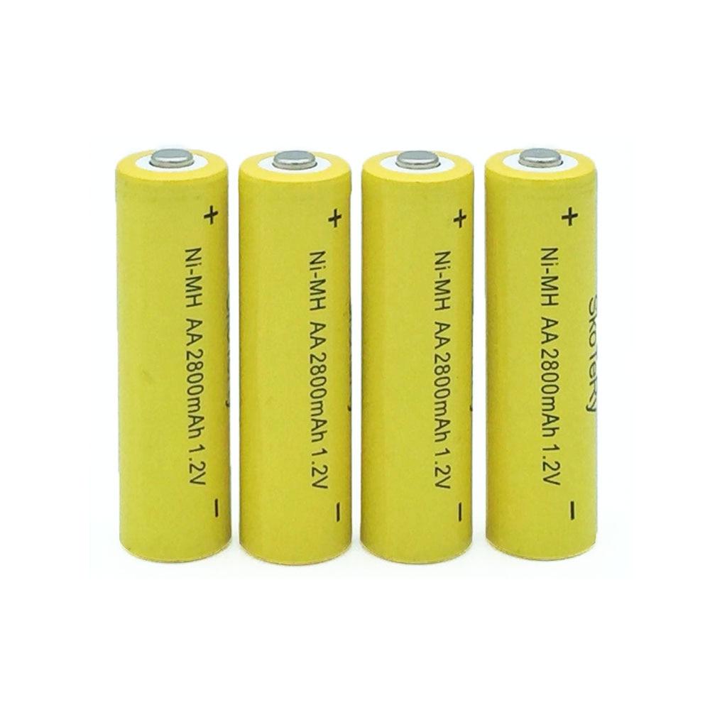 12pcs aa ni mh 1 2v aa rechargeable 2800mah neutral battery rechargeable battery aa batteries in. Black Bedroom Furniture Sets. Home Design Ideas