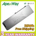 """Apexway 11.1v 58Wh Laptop battery for APPLE for MacBook Pro 15"""" A1286 MB470 MB471  A1281  MB772"""