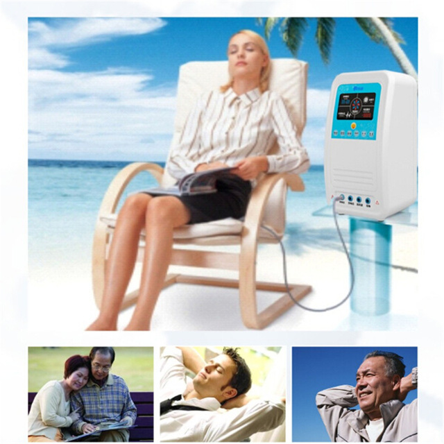 high electric potential therapy device to treat insomnia headache chronic constipation Beauty & Health