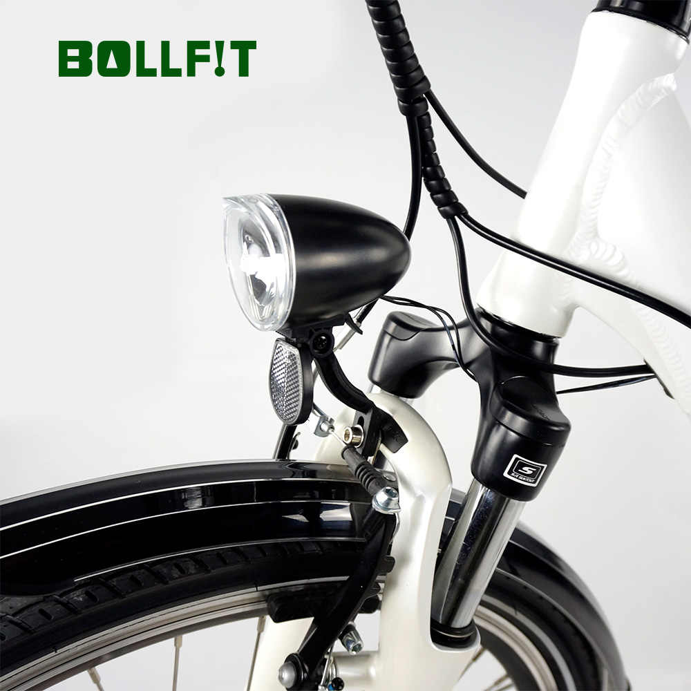 BOLLFIT e bike light 36V 48V Compatible Electric bicycl Headlight Taillight Set Front Light set Headlamp Taillamp Set HL2300
