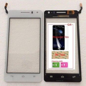 携帯 Huawei 社名誉 U8950D U9508 アセンド G600 タッチスクリーンガラスデジタイザパネルレンズセンサー容量性テープ