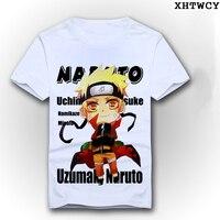 Anime 3D T Shirt Cotton Fitness Summer Style T Shirt Naruto Anime Movie Tshirts Hip Hop