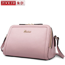 ZOOLER 2017 Genuine Leather Shell Women Shoulder Bag Luxury Brand Bag Women Messenger Bag Famous Designer Women Crossbody Bag