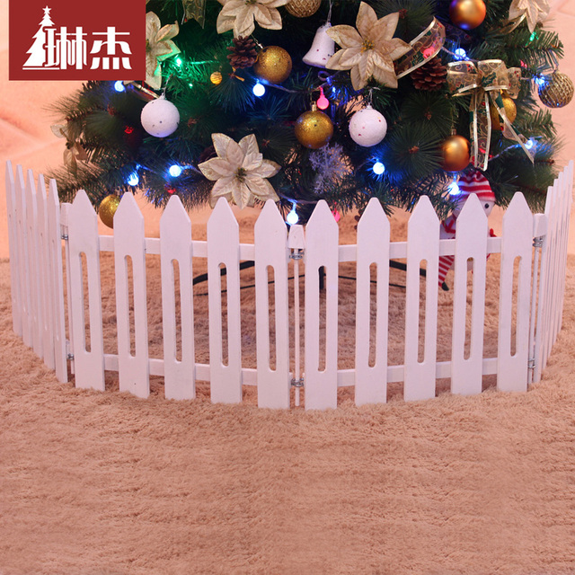 Us 119 0 Lin Jie 1 4 M 30cm Christmas Tree Fence Wood Fence Wood Fence Fence New Hotel Decorations In Christmas From Home Garden On