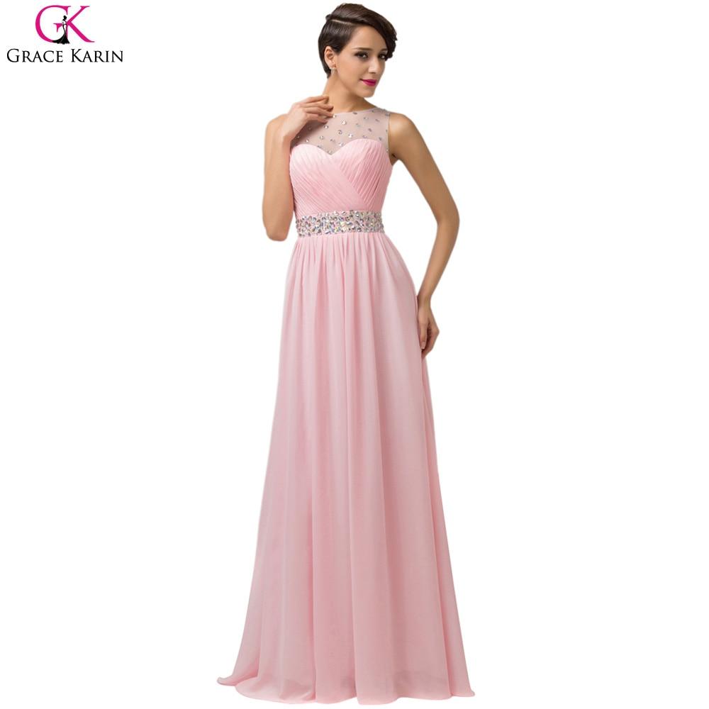 Perfecto Baile Vestidos Largos De Color Rosa Regalo - Colección del ...
