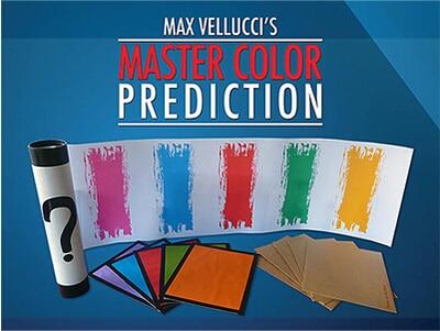 2014 Master Color Prediction By Max Vellucci -Magic Tricks