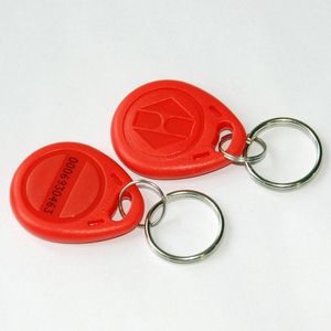 Image 3 - 125KHz Blue color RFID  Key Fob for Access Control System EM4100/TK4100 ID keycard read only waterproof (pack of 100)