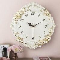 Modern 3D Vintage Wall Clock Mural Home Decoration Accessories Europe Large Digital Needle Circular Clock Handicraft Artwork