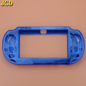 Image 3 - JCD 1 pièces housse solide cristal pour Sony PSV 1000 peau de protection pour PS Vita PSVita 1000 Gamepad