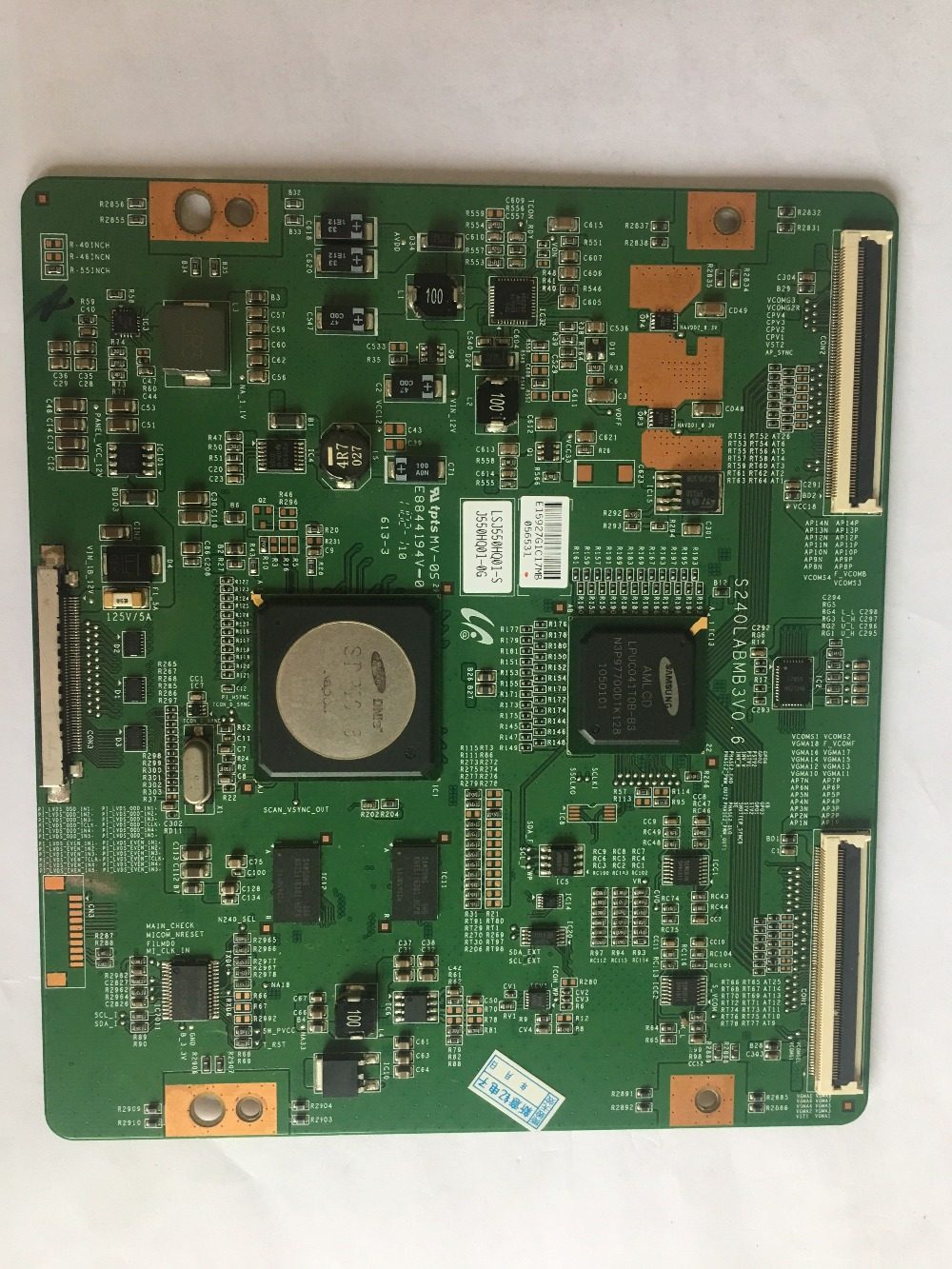 HV550QUS-300 TCON PCB 47-6021019 Good Working Tested