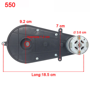 Image 3 - Childrens electric car gearbox with 12V DC motor,kids car 24V engine ,550 and 390 motor for remote car
