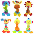 Rattles Kids Toys Детское Детское Toys чучело плюшевые toys baby прорезыватель висит коляски bb sound toys рождественский подарок