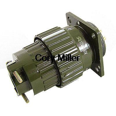 Y28M-19TK/Y2M-19TK 19 Pins Cylindrical Circular Connector Army Green y 168a