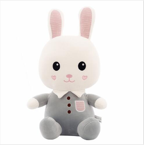 WYZHY Love rabbit plush toy doll childrens birthday gift for boys and girls pillow  30CM