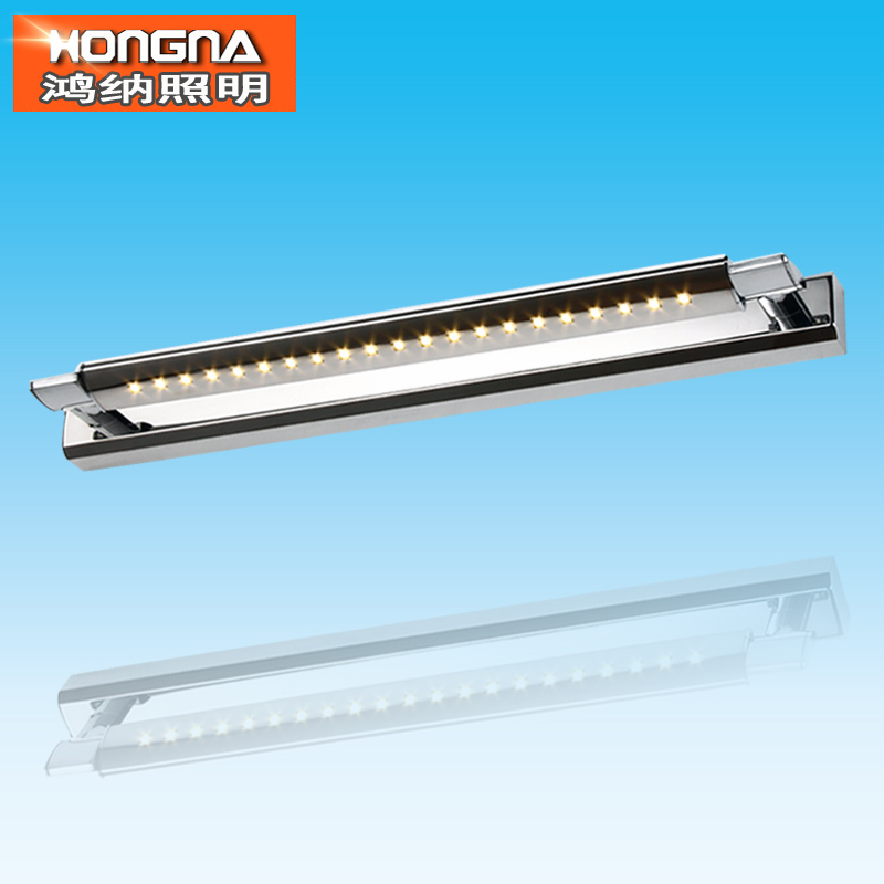 Free Shipping 5W LED Wall Light SMD5050 LED Wall Lamp Stainless Steel Material AC110V/220V Bathroom LED Mirror Light