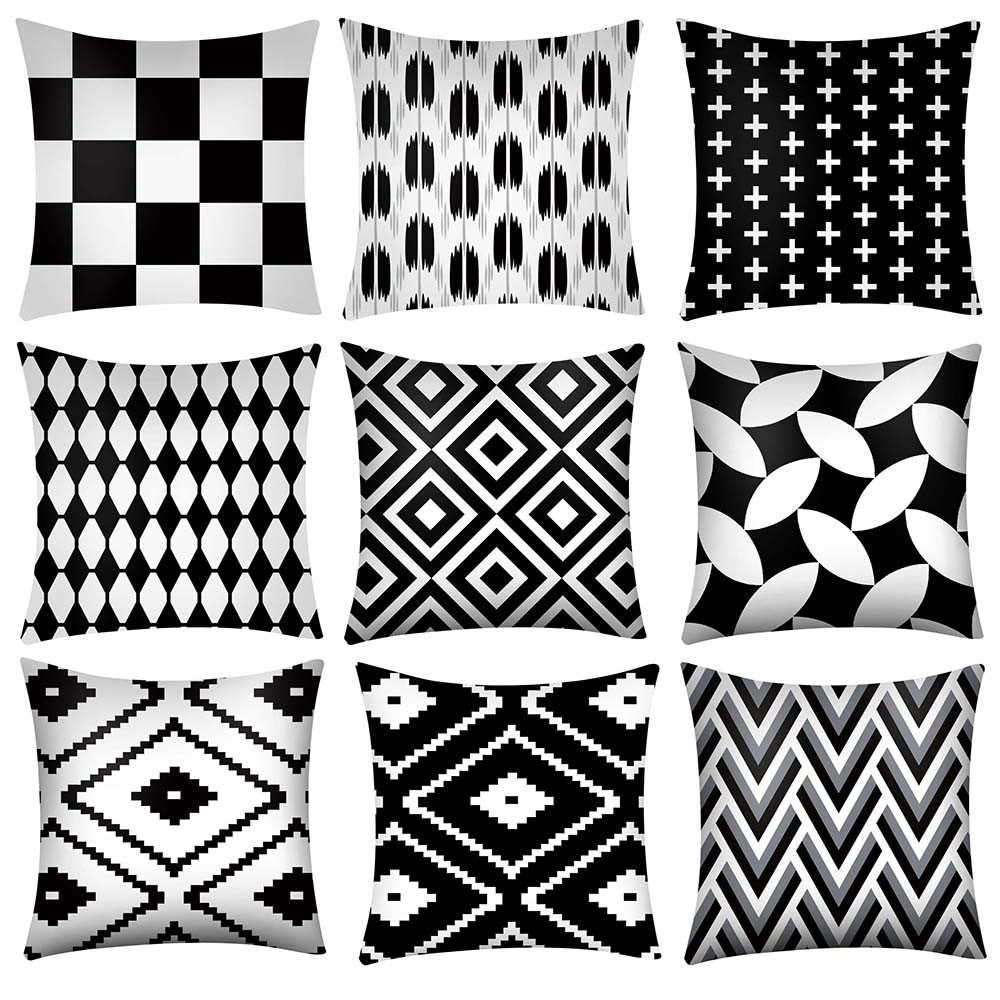 Cojines Print Pillow Case Polyester Sofa Car Cushion Cover Home Decor Funda Cojin Housse de Coussin Pillow Cover Pillowcases