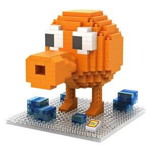 Image 4 - Piksel PacMan mikro blokları modeli DIY araya aksiyon CartoonFigure Donkey Kong Qbert yapı seti oyuncak çocuk hediye karikatür 9617 9620