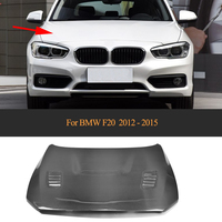 For 1 Series Double Side Carbon Fiber Front Engine Cover Hood For BMW F20 2012 2013 2014 2015 Car Styling