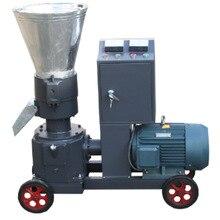 7.5kw кормовая древесная гранулятор машина, с мотором