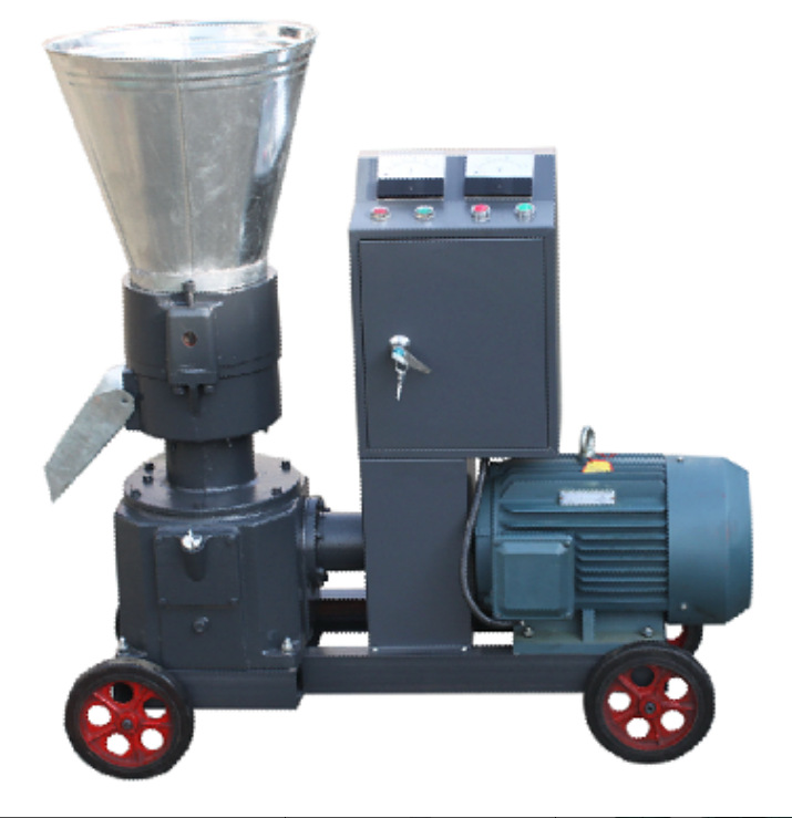 7.5kw Feed Wood Pellet Mill Machine, With Motor