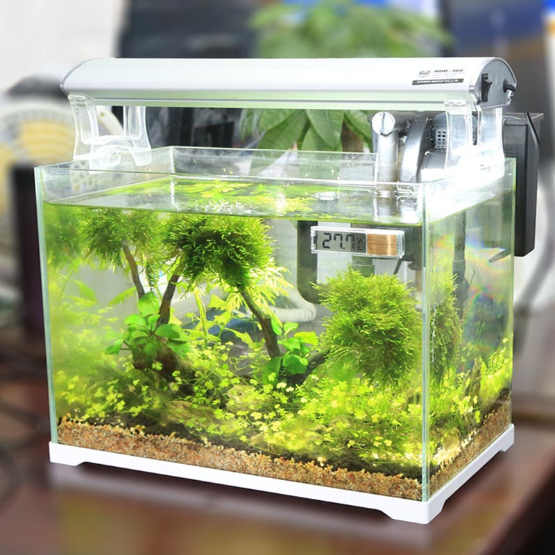Mini Small Cylinder Thermometer Fish Tank Thermometer
