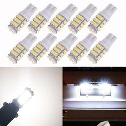 10 piezas T10 1206 42 SMD Auto LED lámparas 42smd DC12V del coche de la cuña lateral marcador luces de señales de giro bombilla 194 927, 161, 168, W5W venta al por mayor