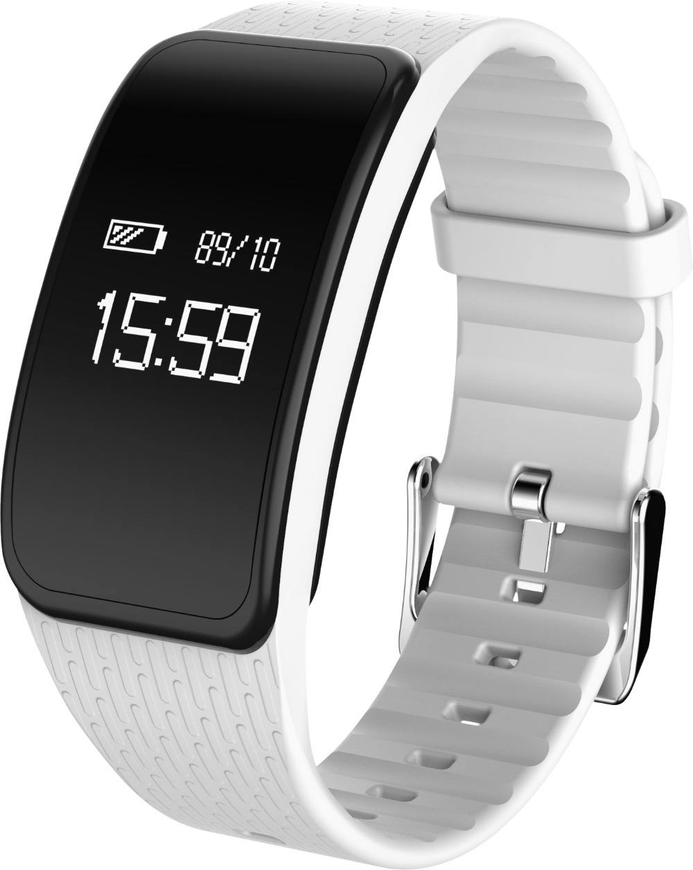 HAIOM New A59 Smart Bracelet Heart Rate Blood Oxygen Blood Pressure Fatigue WeChat Motion Trajectory Private Model Waterproof